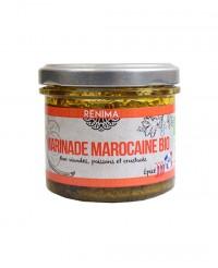 Chermoula pimentée bio - marinade viandes et poissons  - Les Saveurs de Rénima