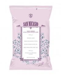Chips huile d'olive vierge extra - sel rose - San Nicasio