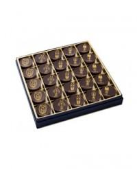 Coffret dégustation chocolat aux fruits et épices - 25 chocolats - Castelanne