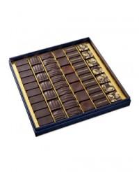 Coffret dégustation grands crus de cacao - 51 chocolats - Castelanne
