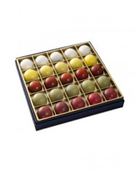 Coffret dégustation chocolat au whisky - 25 chocolats - Castelanne
