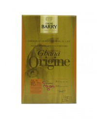 Chocolat de couverture au lait du Ghana 40,5% - Barry