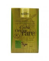 Chocolat de couverture noir de Cuba 70% - Barry