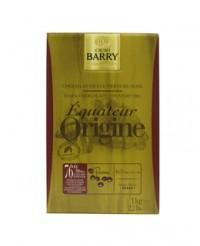 Chocolat de couverture noir d'Equateur 76% - Barry