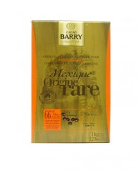 Chocolat de couverture noir du Mexique 66% - Barry