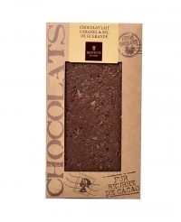 Tablette chocolat lait - caramel et sel de Guérande - Bovetti