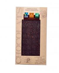 Tablette chocolat noir - piment d'Espelette bio - Bovetti