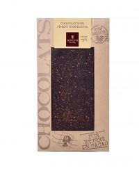 Tablette chocolat noir - piment d'Espelette - Bovetti