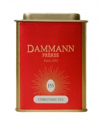 Thé Christmas Tea Rouge - Dammann Frères