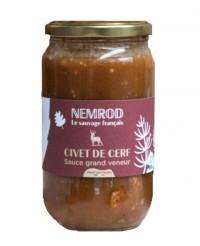 Civet de cerf sauce grand veneur - Nemrod