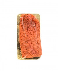 Saumon norvégien mariné a l'aneth – coeur de filet - Kaviari