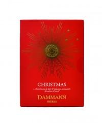 Coffret assortiment de Noël - sachet cristal  - Dammann Frères