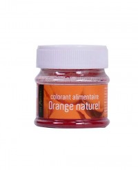 Colorant alimentaire Orange Naturel - Les Artistes