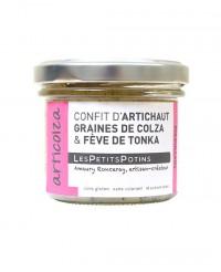 Confit d'artichaut graines de colza et fève de tonka - Articolza - Les Petits Potins