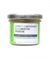 Confit d'artichaut à la menthe fraiche - Artimenthe - Les Petits Potins
