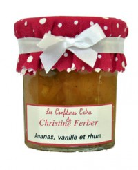 Confiture d'ananas, vanille et rhum - Christine Ferber
