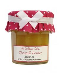 Confiture de bananes et jus d'oranges maltaises - Christine Ferber