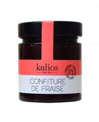 Confiture de fraise - 82% fruits frais - Kalios