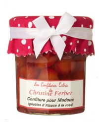 Confiture pour Madame aux griottes et à la rose - Christine Ferber
