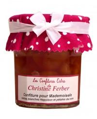 Confiture pour Mademoiselle aux cerises blanches et à la rose - Christine Ferber