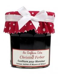 Confiture pour Monsieur - Griotte chatel morel et eau de vie de kirsch - Christine Ferber