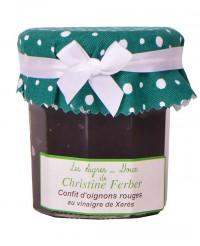 Confit d'oignons rouges au vinaigre de Xérès - Christine Ferber