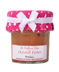 Confiture d'oranges sanguines, mangues et passion - Christine Ferber