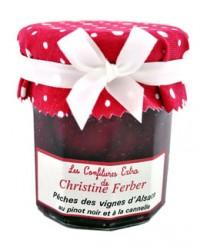 Confiture de pêches des vignes au pinot noir et à la cannelle - Christine Ferber