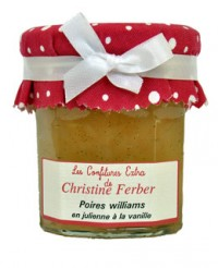 Confiture de poires williams en julienne et vanille - Christine Ferber