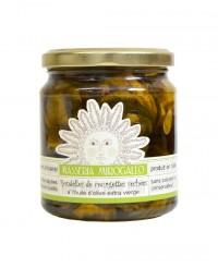 Courgettes séchées en rondelles à l'huile d'olive - Masseria Mirogallo