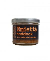 Emietté de haddock au caviar de tomates - L'Atelier du Cuisinier