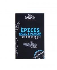 Mélange d'épices grill & plancha - dosettes fraîcheur - Max Daumin