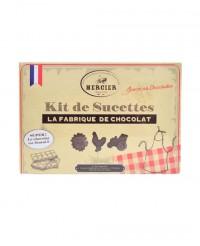 Fabrique à sucettes en chocolat - Chocolaterie Daniel Mercier