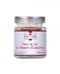 Fleur de sel au piment d'Espelette - Maison Charteau