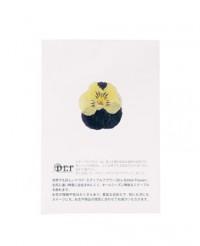 Fleurs comestibles séchées de pensée jaune et violette - Neworks