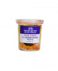 Foie gras de canard entier truffé 100 g - bocal  - Edouard Artzner