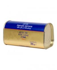 Bloc de foie gras d'oie 200g - Edouard Artzner