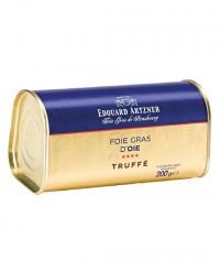 Foie gras d'oie truffé 200g - Edouard Artzner