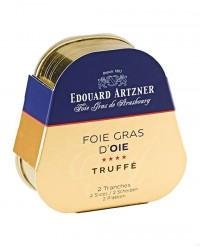 Foie gras d'oie truffé 75g - Edouard Artzner