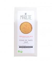 Préparation bio pour fond de tarte salé - pâte brisée - Marlette