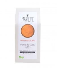 Préparation bio pour fond de tarte sucré - pâte sablée - Marlette