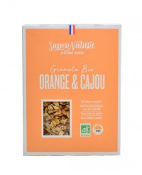 Granola orange & noix de cajou bio - Catherine Kluger