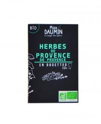 Mélange Herbes de Provence bio - dosettes fraîcheur - Max Daumin