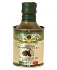 Huile d'olive à la truffe noire - Regno degli Ulivi