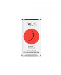 Huile d'olive infusée au piment frais - Kalios
