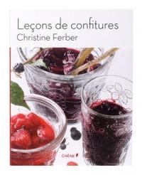Leçons de confitures par Christine Ferber - Editions du Chêne
