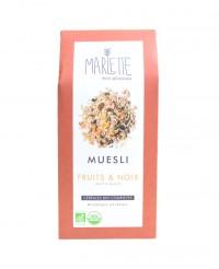 Muesli bio aux fruits et noix - Marlette