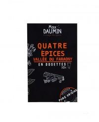 Mélange quatre épices - dosettes fraîcheur - Max Daumin