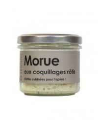 Rillettes de morue aux coquillages rôtis - L'Atelier du Cuisinier