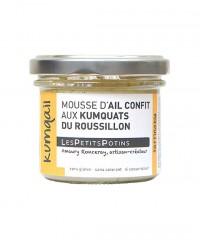 Mousse d'ail confit aux kumquats du Roussillon - Kumqail - Les Petits Potins